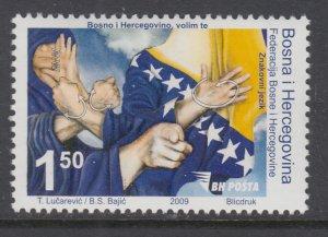 Bosnia and Herzegovina Bosniak Government 660 MNH VF