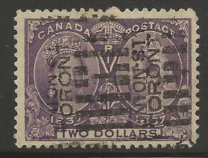 Canada #62 USED XF SELECT Jubilee -- Toronto Roller