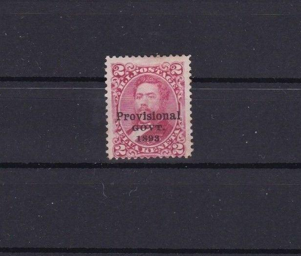 EARLY CLASSIC HAWAII  STAMP  1893 PROVINCIAL GOVERNMENT     REF 6740