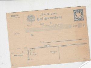 germany unused  stamps card ref 20975