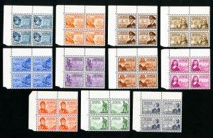 Norway Stamps # 279-89 XF OG NH Catalog Value $188.00
