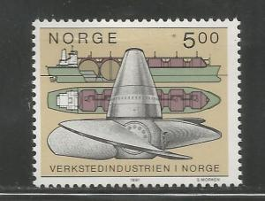 NORWAY, 988, MH, SHIP BUILDING