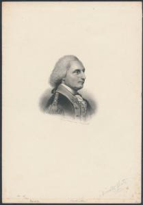 GEORGE WASHINGTON VIGNETTE DIE ESSAY PRIVATE PLATE -- RARE -- BR6424