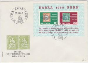 Switzerland 1965 Bern Slogan Cancels Nat. Stamp Exh. Stamps Offi Cover Ref 25661