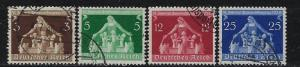 Germany Reich Scott # 473 - 476, used