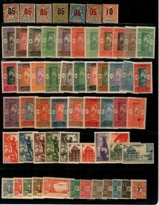 Dahomey- early collection of mint hinged (clean lot) - CV $63.85