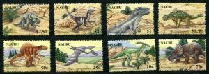 NAURU 2006 DINOSAURS - PREHISTORIC ANIMALS MINT COMPLETE  SET - $19.00 VALUE!