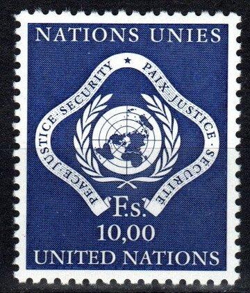 United Nations Geneva #14 MNH CV $3.75  (X2557)