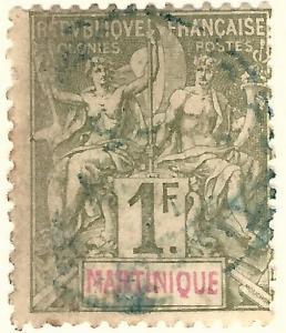 Martinique (Sc #51) Fine Used..Prices are Rising!