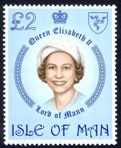 Isle of Man Sc# 200 MNH 1981 Queen Elizabeth II