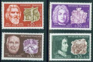 FRANCE Scott B417-B420 MNH** 1968 Semi Postal set
