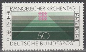 Germany #1351  MNH  (S6992)