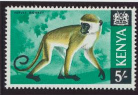 Kenya  SG 33a  Mint Never Hinged Glazed Ordinary Paper PVA Gum see details