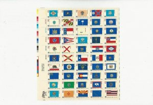 US Stamps/Postage/Sheets Sc #1633-1682 Amer Bicentent Flags MNH F-VF OG