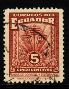 Ecuador - RA49 Communications Symbols - Used