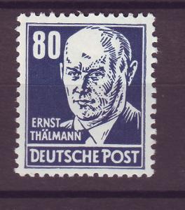 J14686 JLstamps 1953 germany DDR mnh #134 thalmann wmk 297