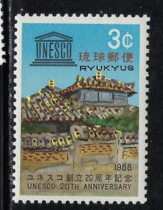 Ryukyu Is 147 MNH 1966 issue
