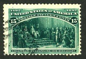 U.S. #238 USED