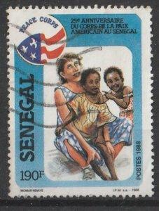 Senegal 1988 25th Anniv. of Peace Corps in Senegal 190F (1/1) USED