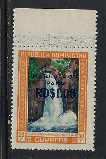 DOMINICAN REPUBLIC 540 MNH FALLS 199G-4
