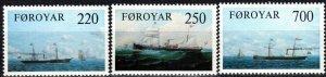 Faroe Islands #90-92  MNH  CV $3.55 (P641)