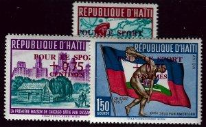 Haiti CB19-CB21 MNH VF SCV$3.00...Such a Deal!