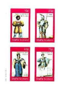 Staffa 1982 French Revolution Costumes #01 imperf sheet c...