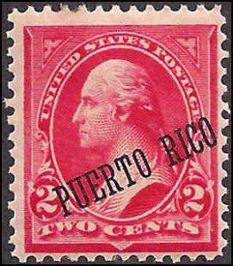 Puerto Rico 216 Mint,OG,H... SCV $5.50