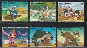 Anguilla # 493-498, Disney Characters - World Cup Soccer, NH, 1/3 Cat.