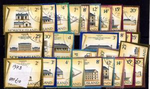 Norfolk Island 1973 Historic Buildings To $1 Plus Many Extras VFU X6810