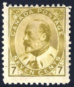 CANADA 92 Mint F+ CV$500.00 Fresh Color (92-5)