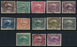 Czechoslovakia #23-40  CV $4.95