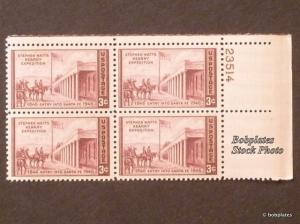#944 Kearny Lower Left  Plate Block 23512 F-VF NH