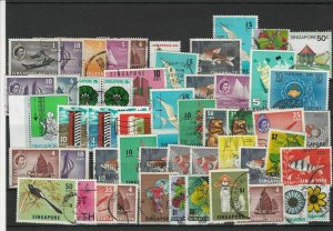 Singapore Mixed Stamps Ref 28936