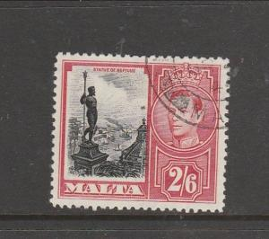 Malta 1938/43 2/6 FU SG 229