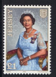 Jersey  1986  MNH  Queen Elizabeth 60th birthday  complete