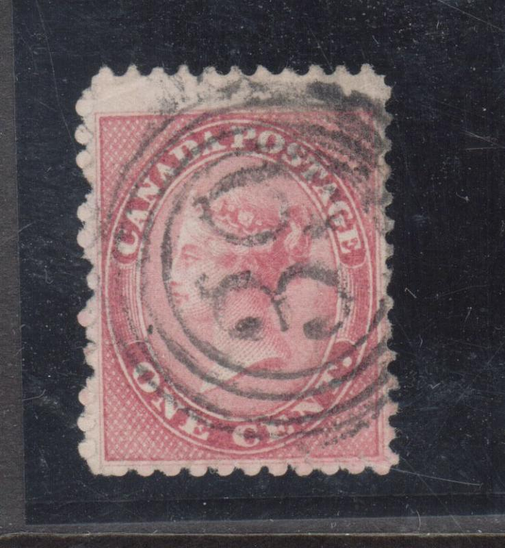 Canada #14 Very Fine Used With Ideal 4 Ring 39 Cancel St Johns RF 5