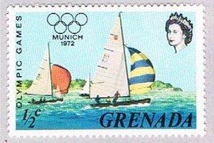 Grenada Sailboat half - pickastamp (AP103412)