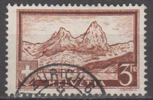 Switzerland #209 F-VF Used CV $5.25 (ST1369)