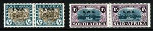 SOUTH WEST AFRICA 1939 Huguenot Landing Part Set Optd SWA SG 111 & SG 113 MINT