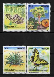 Mexico Stamps # 1324-7 VF OG H