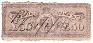 (I.B) Australia - Victoria Revenue : Stamp Duty £50