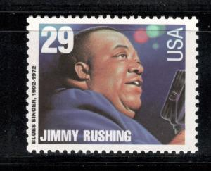 2858 Jimmy Rushing Blues Singer US Single Mint/nh (Free Shipping)