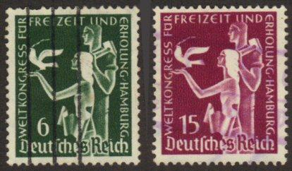 Germany #477-78 used cpl set
