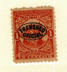 Salvador #O129 MNG CV$4.50