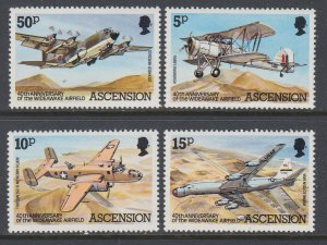 Ascension 309-312 Airplanes MNH VF