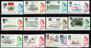 Bahamas #230-44   MNH  CV $24.65 (X6153)