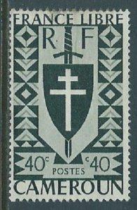 Cameroun, Sc #286, 40c, MNG