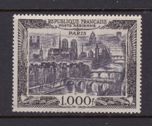 France the MH 1000Fr Air stamp from 1949