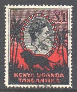 KUT Scott 85 - SG150a, 1938 George VI £1 used